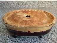 a picture of Apple and Blackberry Pie